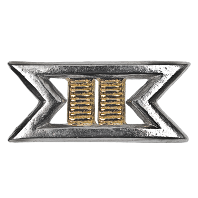 Commander Rank Pin
