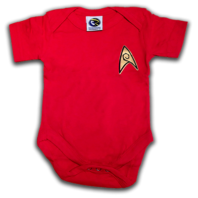 Star Trek Engineering Officer Baby Uniform