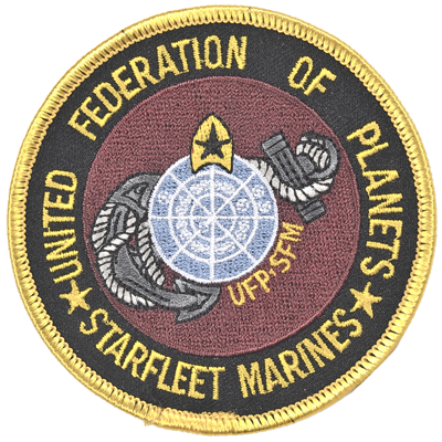 UFP Starfleet Marines Patch
