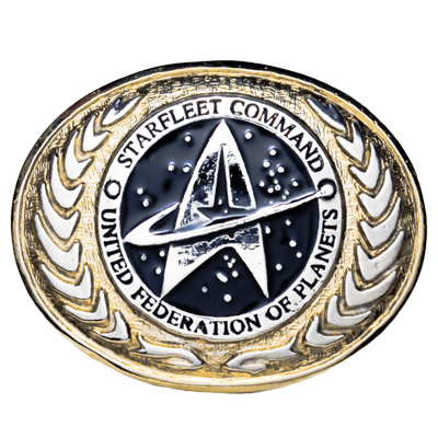 United Federation of Planets Buckle