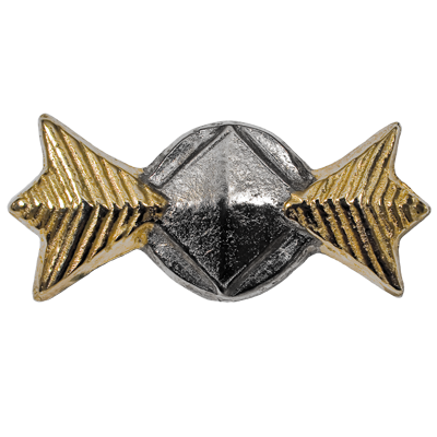 Commodore Rank Pin