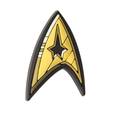 Star Trek Floppet (Command Insignia Gold)
