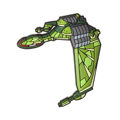 Star Trek Floppet (Klingon Bird of Prey)