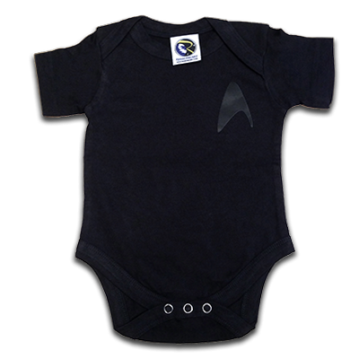 Star Trek Into Darkness Baby Uniform
