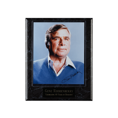 Gene Roddenberry Commemorative Plaque