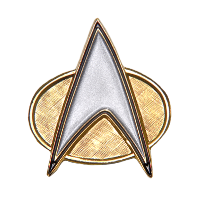 Star Trek Tng Communicator Pin Roddenberry Shop