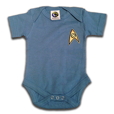 Star Trek Science Officer Baby Uniform  sc 1 st  Roddenberry Shop : infant star trek costume  - Germanpascual.Com