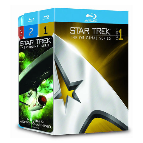 Star Trek: The Original Series (Blu-Ray) 3 Season Set