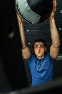 Nasty Lifestyle training top in blue