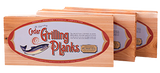 "Legendary Cedar Grilling Planks - 12 Pack - 3/8"" THICK - Made in OREGON - 5.5"" x 12"""