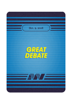 Great Debates: Action News x The Contender Crossover Mini-Expansion