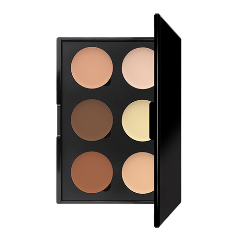 Ivory  / 6 well contour cream pallet