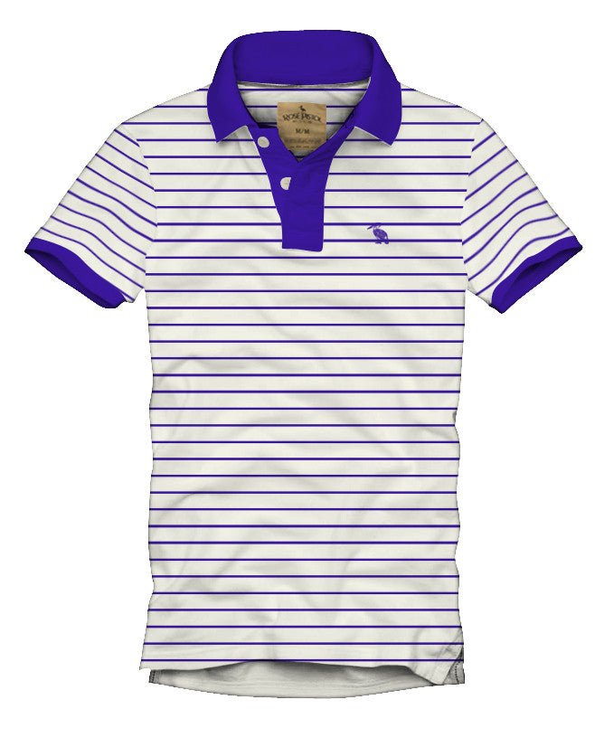 Milton Striped Polo