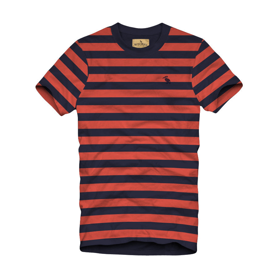 Crissy Striped Pelican Tee