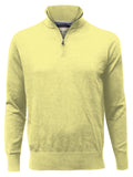 ZIP MOCK NECK  (POLLEN)