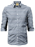 L/S VICTORVILLEHORIZONTAL STRIPED SHIRT