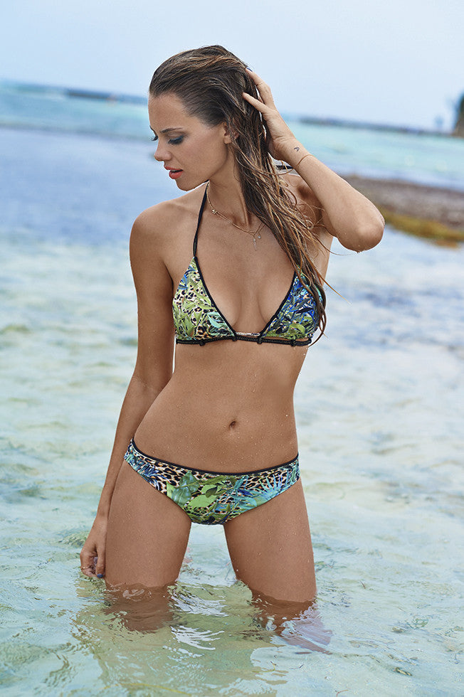 Jungle Free Triangle Top
