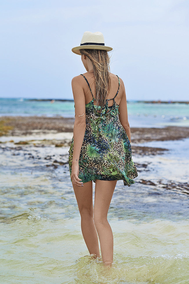 Jungle Free Kaftan