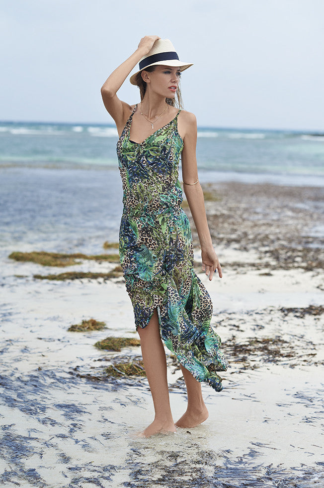 Jungle Free Sheer Dress