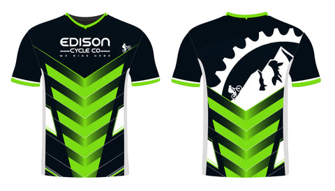 Green Lines Edison Jersey