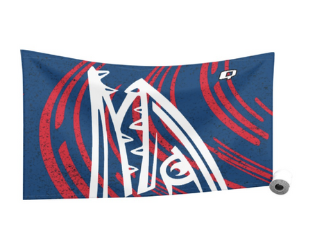 Johnson Ranch Barracudas Quick Dry Towel