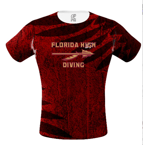 Florida High Female Shirt (Diving)