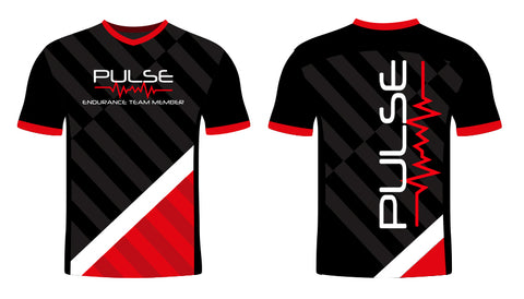 Black and Red Pulse Jersey