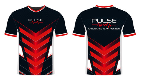 Red and Black Pulse Jersey