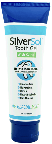 SilverSol Tooth Gel 4 oz