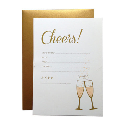Cheers! Fill-in Invitations