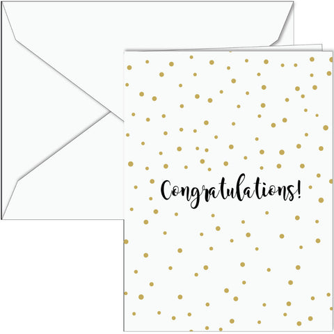 Congratulations Dots Card