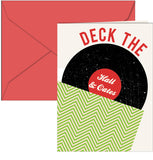 Spread the Holiday Cheer with this Philadelphia Deck the Hall & Oates Holiday card. Created by Paper on Pine's Design Team, this card is professionally printed on heavy white card stock and comes with matching red envelope!