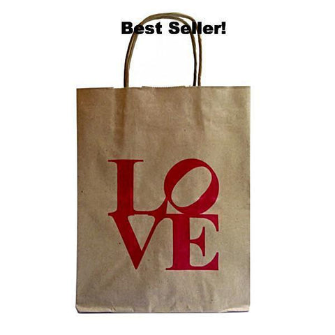 LOVE Kraft Bag -  Paper On Pine Exclusive.
