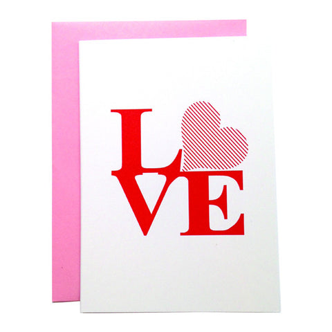 Philly LOVE Note Card