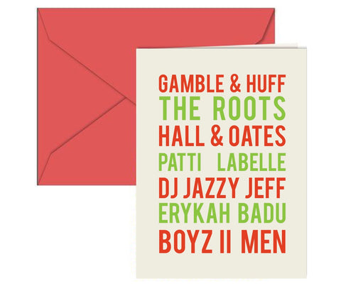 Philly Music Holiday Card Boxed Set
