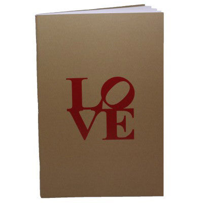 Philly Original LOVE notebook