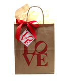 LOVE Gift Tags -  Paper On Pine Exclusive