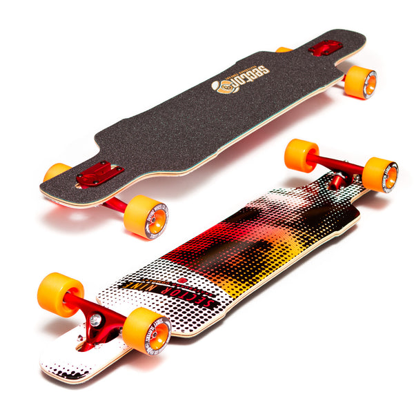 Sector 9 Dropper Pro-Build Red - Performance Longboarding - FREE SHIPPING!