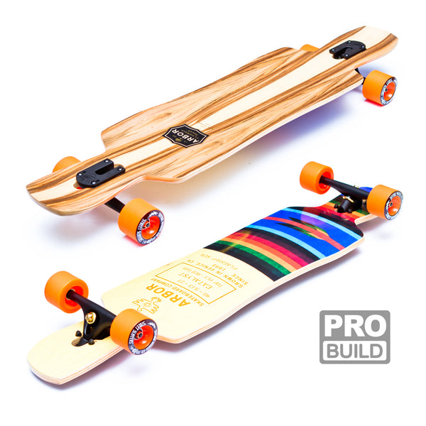 Arbor Catalyst Longboard Orange