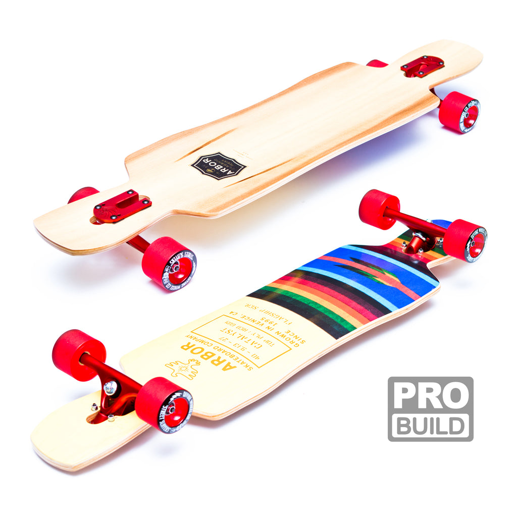 Arbor Catalyst Longboard Red