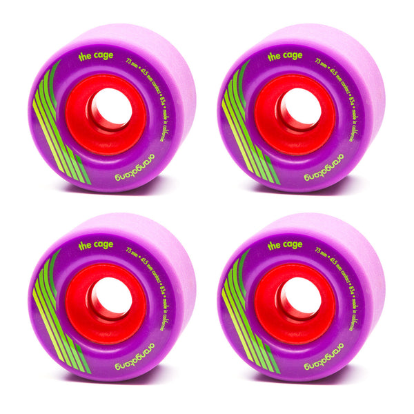 Orangatang 73mm The Cage 83a Purple