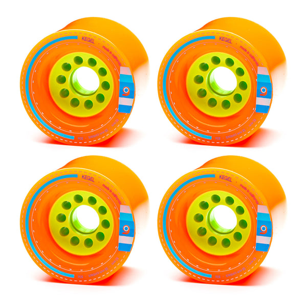 Orangatang 80mm Kegel 80a Orange - Performance Longboarding - FREE SHIPPING!