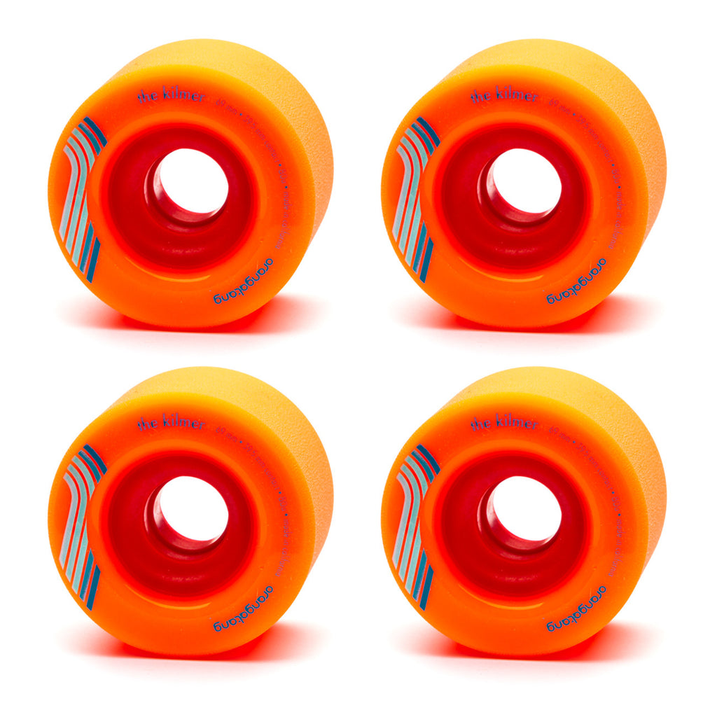 Orangatang 69mm The Kilmer 80a Orange - Performance Longboarding - FREE SHIPPING!