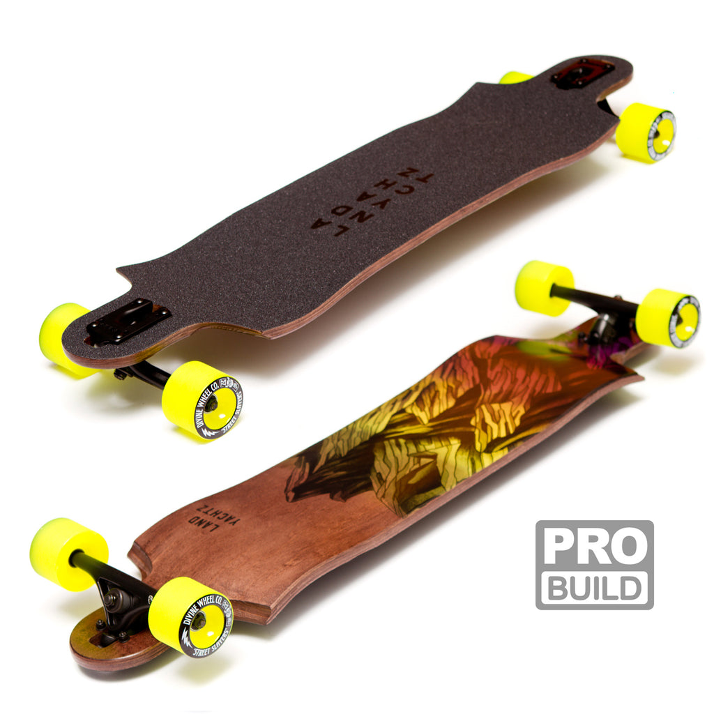 Landyachtz Switchblade 38 Longboard Pro Build