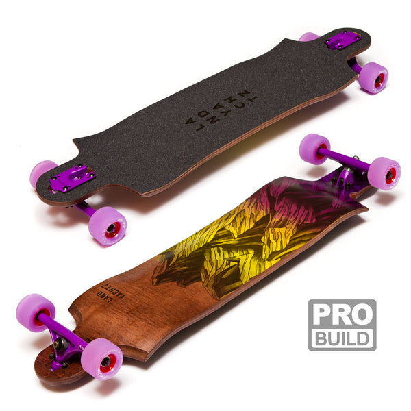 Landyachtz Switchblade 38 Longboard Freeride Pro Build