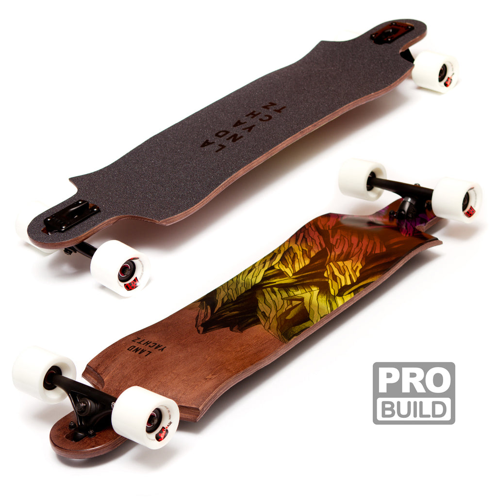 Landyachtz Switchblade 38 Longboard White Advantages