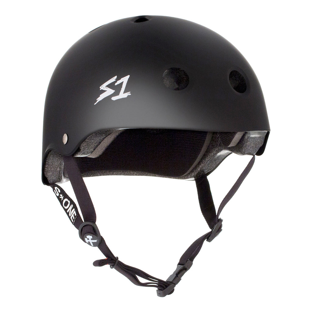 S1 Lifer Helmet Matte Black - Performance Longboarding - FREE SHIPPING!