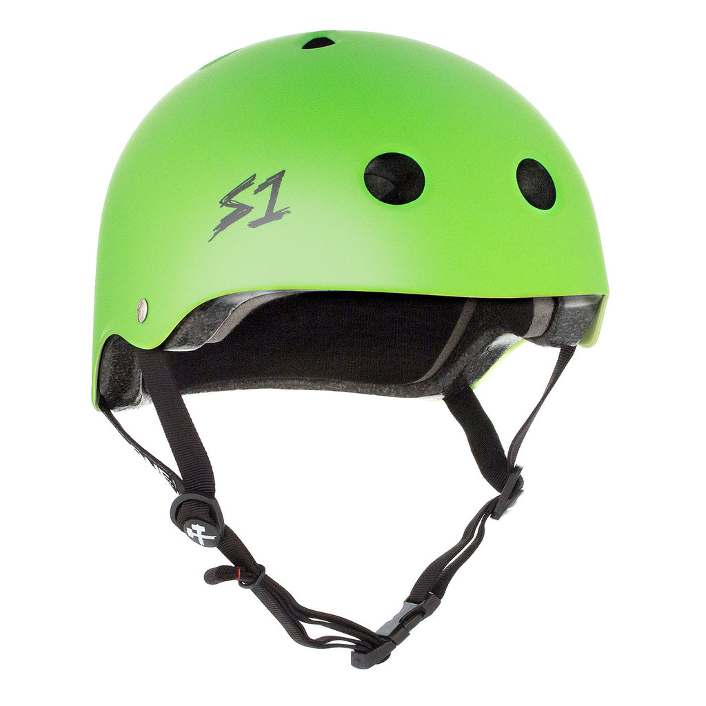 S1 Lifer Helmet Matte Bright Green - Performance Longboarding - FREE SHIPPING!