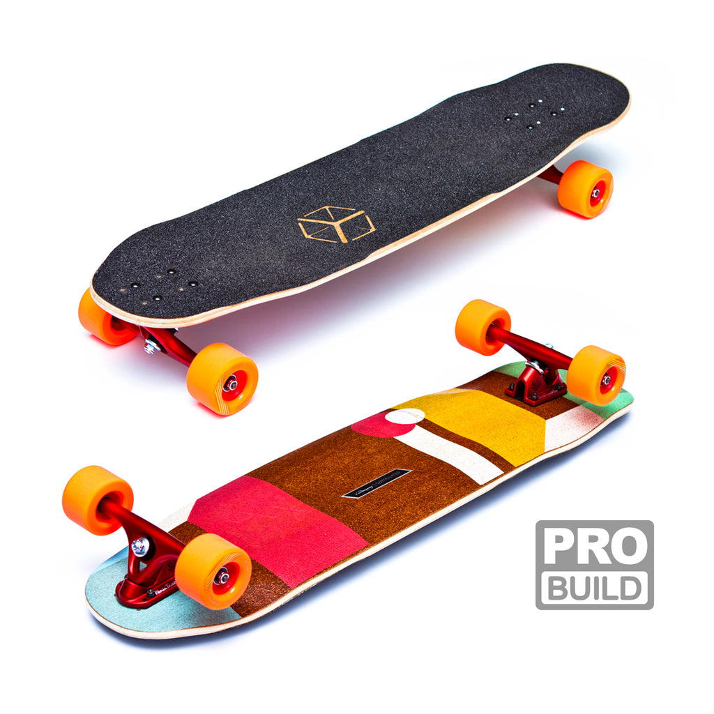 Loaded Tesseract Longboard Pro Build