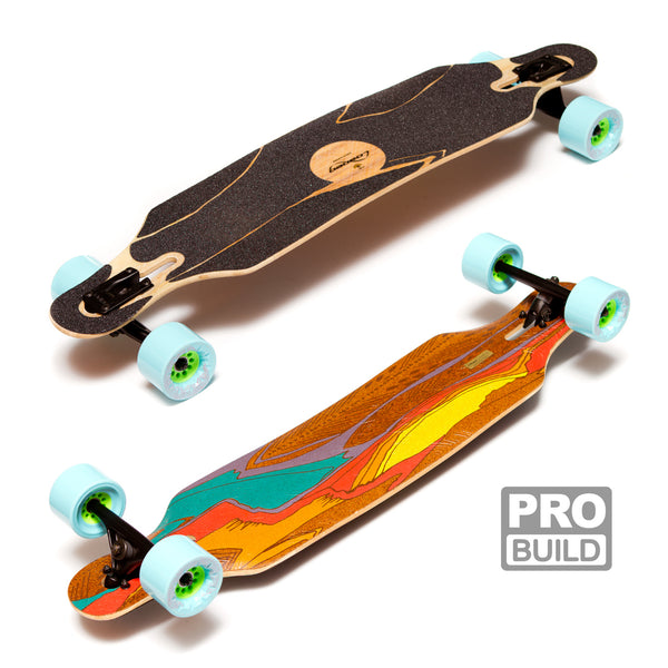 Loaded Icarus Longboard Caguamas Blue Bear Trucks